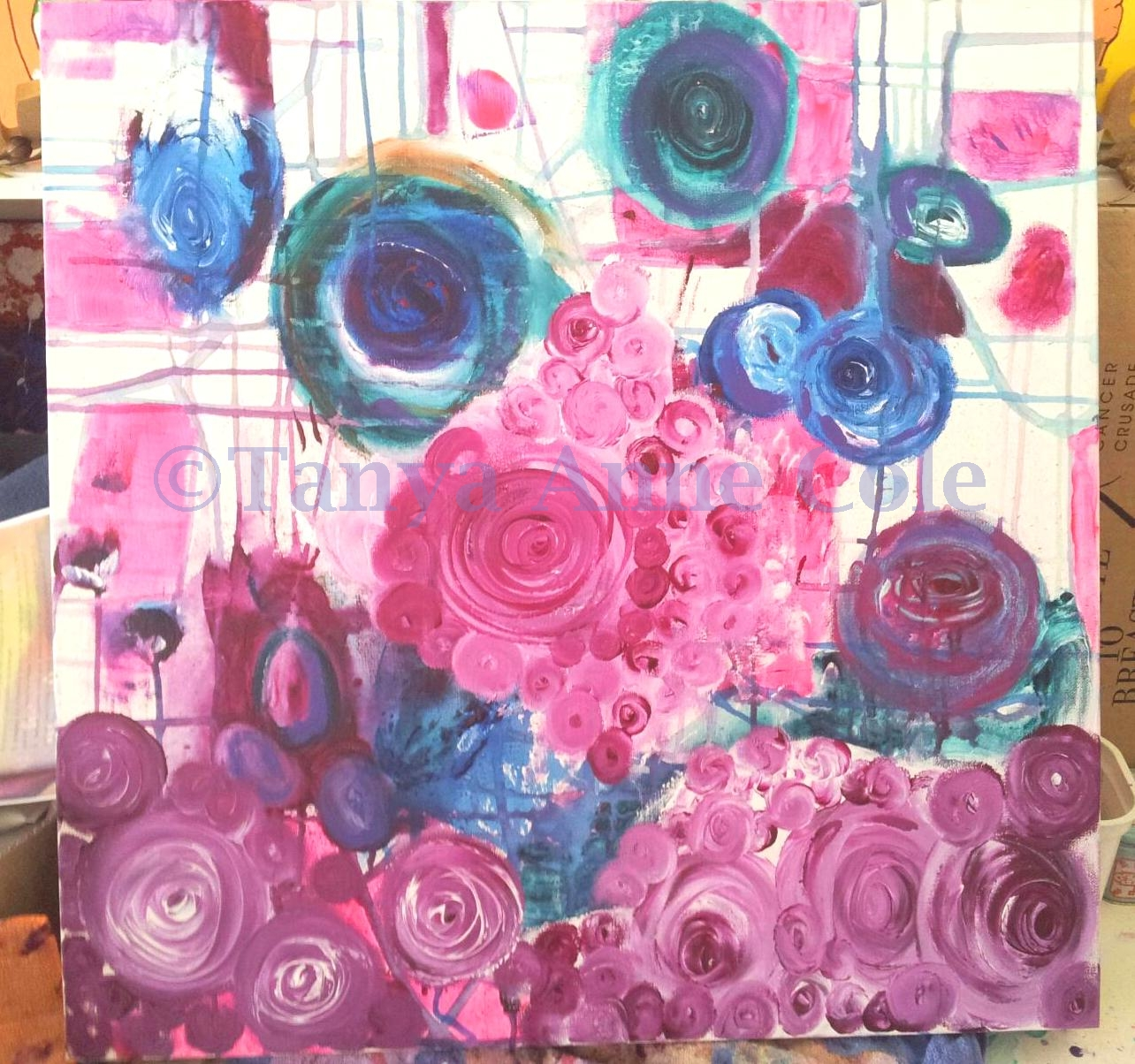 large canvas floral in progress watermarked